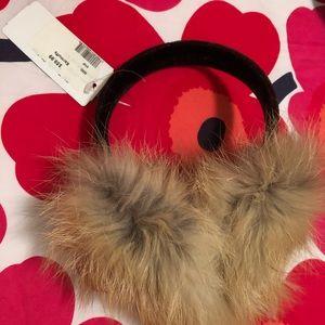 Accessories - Fox fur earmuffs